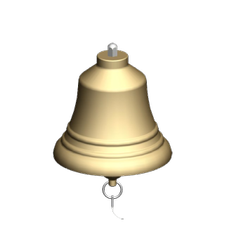 Copper Fire Bell