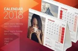 Printed Calender 1 Ti 7 Days Calendars Printing Services, in Delhi Ncr