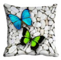 Party Type Printed Cushion Cover, Shape: Square