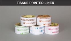Tissue Printed Liner Tapes