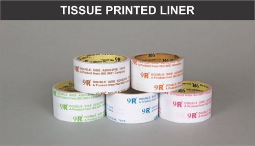 Tissue Tape - Tissue Printed Liner Tapes Manufacturer from