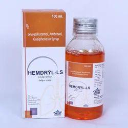 100 mL Levosalbutamol  Ambroxol Guaiphenesin Syrup