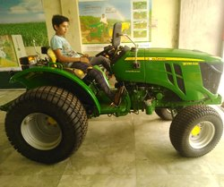 Lone Tractor with Turaf Tyre