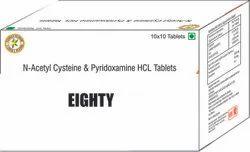 N Acetyl Cysteine & Pyridoxamine HCl Tablets