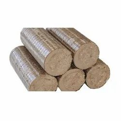 Bio Coal Briquettes, 10 To 12%, Cylindrical