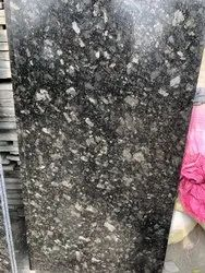 South India Black Granite Slab, For Countertops, Thickness: 15-20 mm