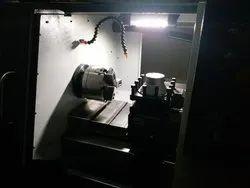 Retro CNC Lathe Machine