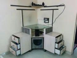 Kohinoor Furniture Wood & Glass KF-TU-19 TV Unit