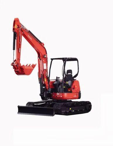 Kubota Mini Excavator U50-5S, Speed: 8 6 Rpm, Power: 40 Hp