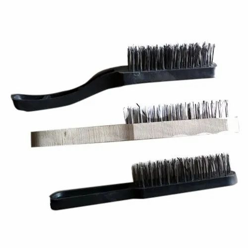 Stainless Steel Wooden Handle Ss Wire Brush 2 3 Inch 10 Inch