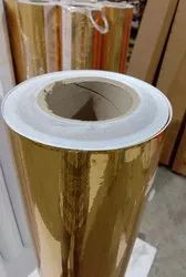 Gold Chrome Avery Car Wrapping Roll