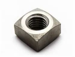 MS Square Nuts M8 Din 557, For Industrial