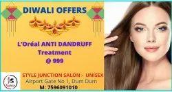 Unisex Anti Dandruff Treatment