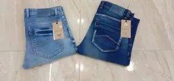 Men Blue Denim Jeans, Age Group: Mens