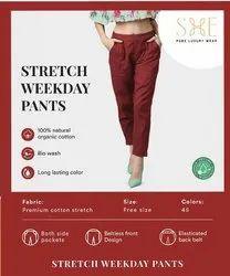 Cotton Weekday Pants