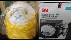 Disposable 3M 8210 N95, Certification: Niosh Iso Ce Gmp Fda Sitra, Number of Layers: 5 Layer