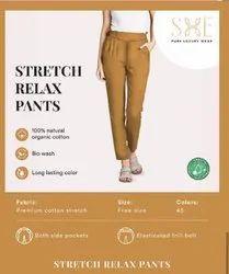 Cotton Relax Pants