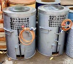 S Steel Top Gas And Charcoal Tandoor
