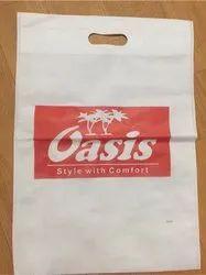 Printed D Cut Shopping Bags