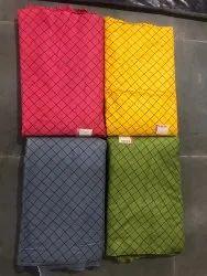 Black And White Printed Rayon Kurti Fabric, GSM: 100-150