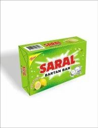 Saral Solid Bartan Bar, Packaging Size: 270 Gm, Packaging Type: Box