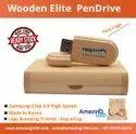 Wooden Elite Pen Drive