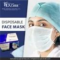 3 Ply Lace Loop Disposable Face Mask