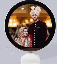 Round Magic Mirror