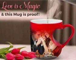 Red Heart Handel Magic Mug