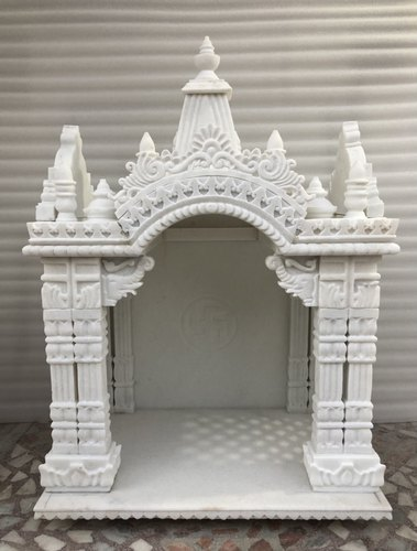 White Marble Temple For Pooja