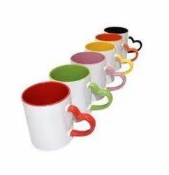 Heart Handel Colour Mugs