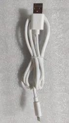 Electric White Usb Cable (Line Cut), For Mobile Phone, Cable Size: 1 Meter