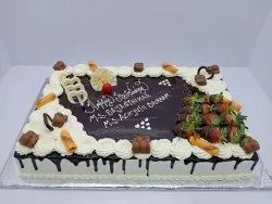 Choco Creamy Square Birthday Cakes, Packaging Size: 2*4, Weight: 3kg