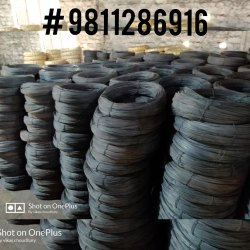 Black Binding Wire, For Industrial