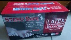 Stero Safe Latex Examination Gloves