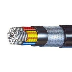 Industrial Electrical Power Cable R R Cable, 4 Core