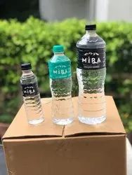 Mira Transparent 1000Ml Mineral Water Bottle, Packaging Type: Bottles