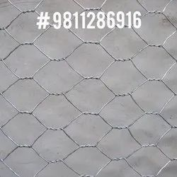 Silver Chicken Wire Mesh, For Fencing