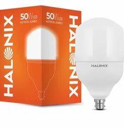 Polycarbonate Round Halonix Aston Jumbo B22 LED Bulb (Cool White)