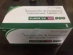 Amoxycillin 500 Mg Clavulanic Acid 125 Mg