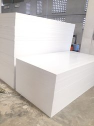 White Plain Pvc Sheet