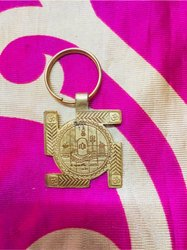 Golden Locket Dharmik Products, For Puja, Packaging Type: Box