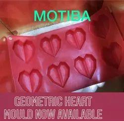 Diamond Heart Shape Mold