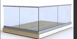 Aluminium Railing Fitting & Glass Balcony Railing & Fittings Accessories
