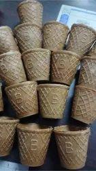 Chocolate Edible Tea Cups, Packaging Type: Carton