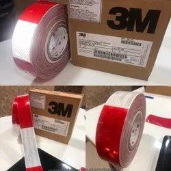 3M Retro Reflective Red White Tapes