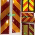 ORAFOL ORALITE C3 C4 Retro Reflective Plate Ais 089 With Barcode Qr