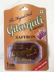 Organic Iranian Saffron, For Food, Packaging Type: Packet