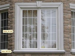 Painted Or Powder Coated Window Grills For House, Material Grade: Mild Steel