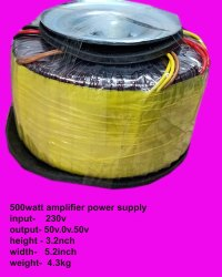 Amplifier Toroidal Transformer
